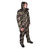 Куртка прямая UkrCamo ЗКПД 52р. Пиксель тёмный, фото 2