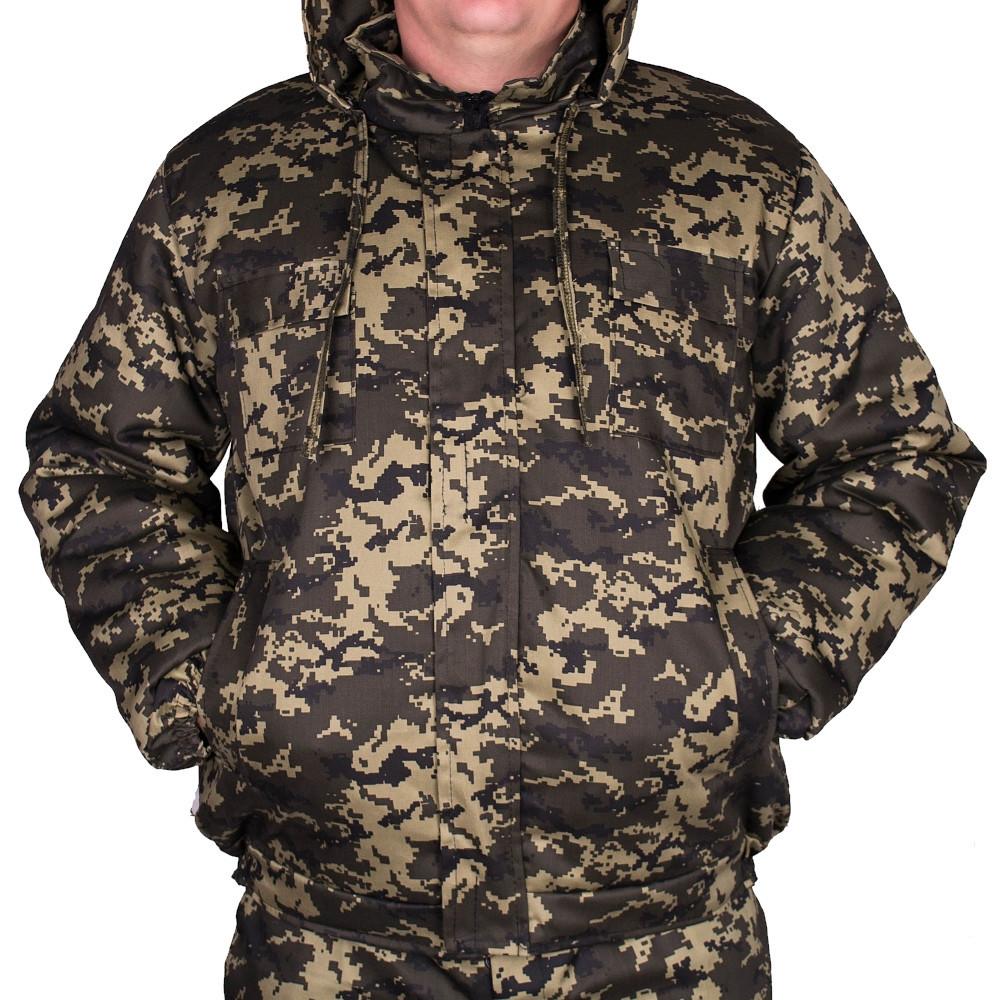Куртка под резинку UkrCamo ЗКПР 56р. Пиксель тёмный