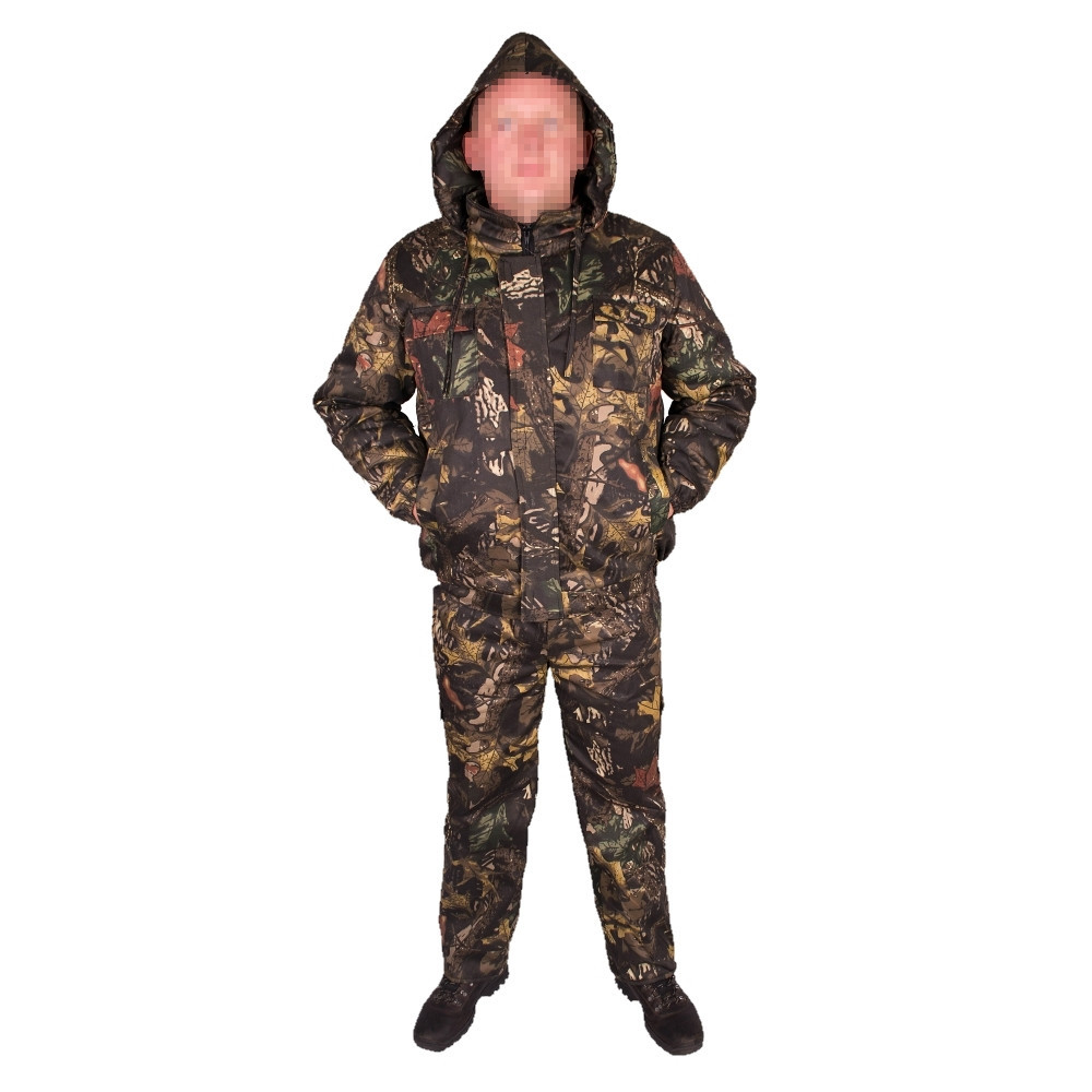 Костюм зимний куртка прямая + штаны UkrCamo ЗКШДД 50р. Дубок тёмный