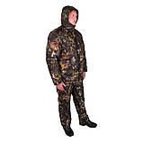 Костюм зимний куртка прямая + штаны UkrCamo ЗКШДД 50р. Дубок тёмный, фото 2