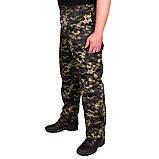 Костюм зимний куртка прямая + штаны UkrCamo ЗКШПД 52р. Пиксель тёмный, фото 4