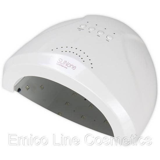 Гибридная лампа SUN ONE для сушки ногтей UV/LED 48W, белый