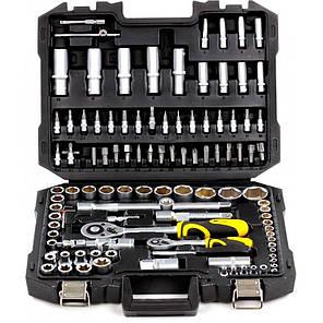 Профессиональный набор инструментов Сталь 108 единиц, фото 2