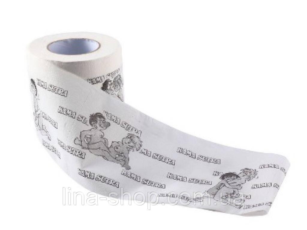 Туалетная бумага с принтом деньги Sexy Toliet Paper