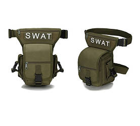Стегновий поясна сумка Swat Хакі