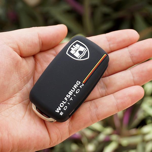Силиконовый чехол для ключа Volkswagen Passat,Golf,Tiguan,Touareg,Polo, Jetta,Amarok,Beetle,Bora,Сaddy,Passat