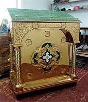 Центральный тетрапод для храма с чеканкой
