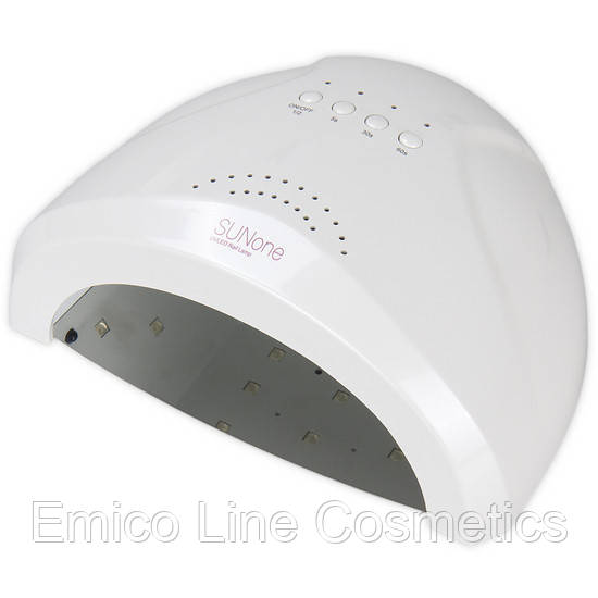 Гибридная лампа SUN ONE для сушки ногтей UV/LED 36W, белый