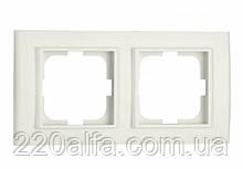 2-я рамка MINA, OVIVO (біла і крем)