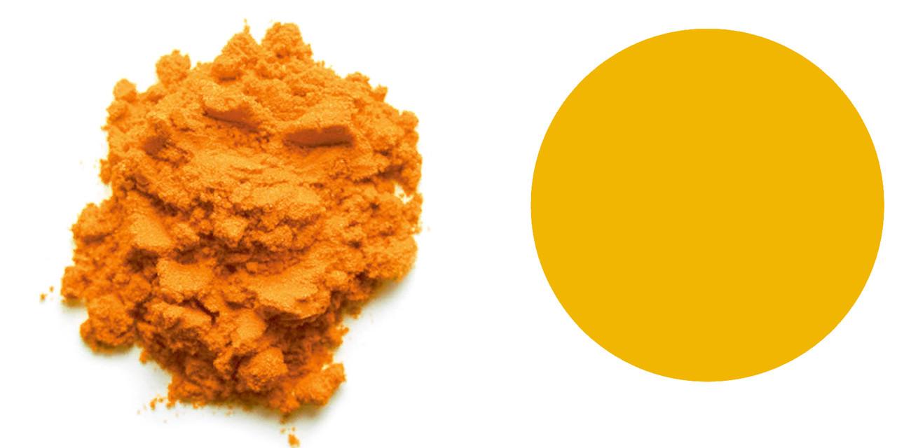 ОРАНЖЕВЫЙ сухой пищевой краситель, солнечный закат, Е 110 (ИНДИЯ)