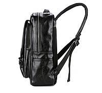 Городской мужской рюкзак Черный. Рюкзак для ноутбука POLO, фото 2