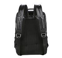 Городской мужской рюкзак Черный. Рюкзак для ноутбука POLO, фото 5