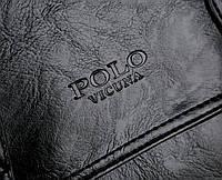Городской мужской рюкзак Черный. Рюкзак для ноутбука POLO, фото 8