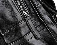 Городской мужской рюкзак Черный. Рюкзак для ноутбука POLO, фото 10