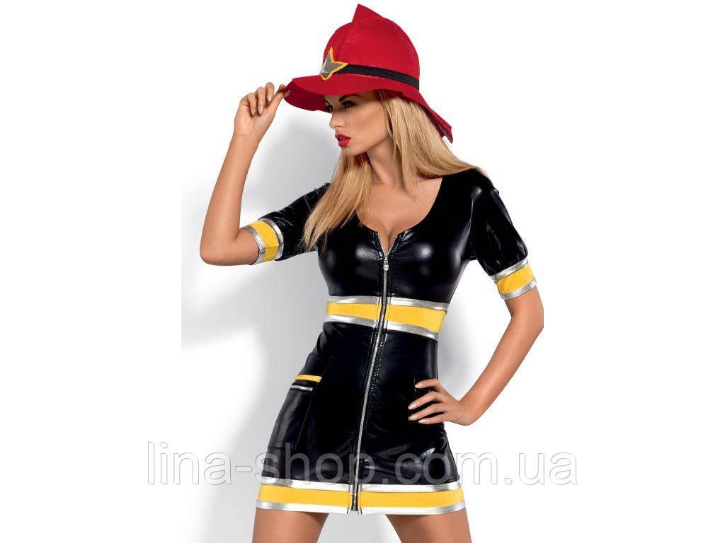 Эротический костюм Obsessive Firegirl