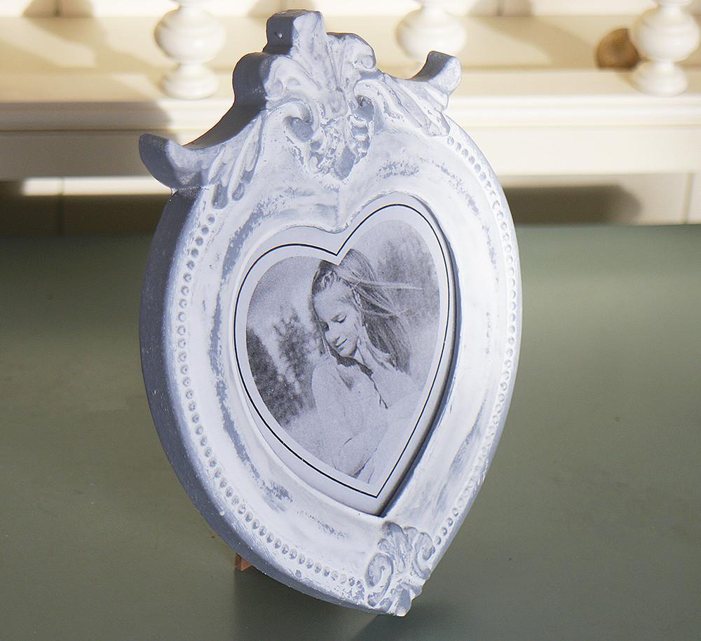 Фоторамка-Сердце с декором Гранд Презент 258031