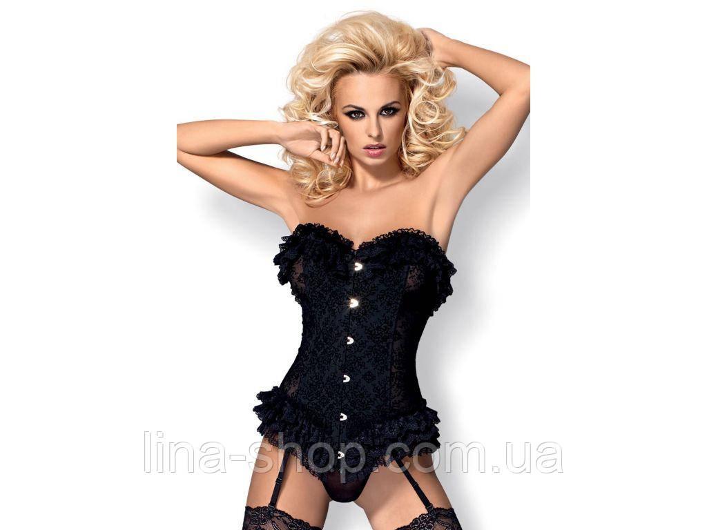 Эротический комплект Obsessive Baletti corset
