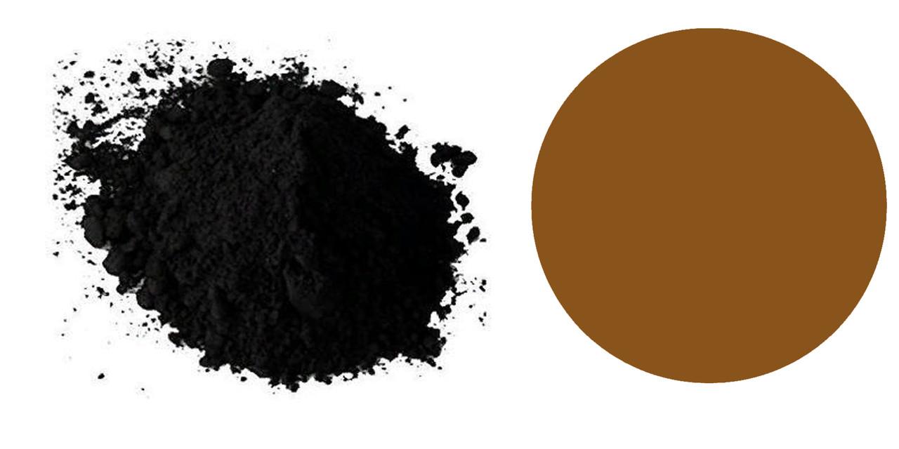 КОРИЧНЕВЫЙ сухой пищевой краситель,коричневый шоколад, Е 155 (ИНДИЯ)
