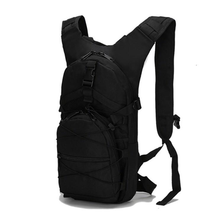 Тактичний міської велосипедний рюкзак ForTactic з системою M. O. L. L. E на 10 літрів Чорний