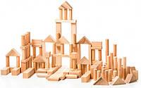 Деревянный Конструктор Большой (144 элемента), Lislis toys