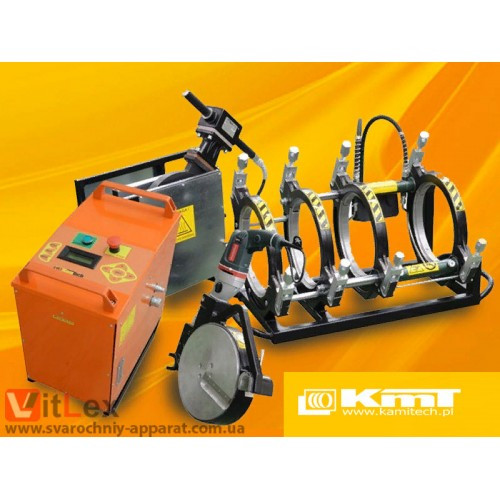Стыковая сварка KamiTech KmT250 Сварочный аппарат стыковой сварки полиэтиленовых ПНД ПЭ пластиковых труб