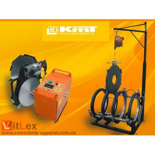 Стыковая сварка KamiTech KmT630 Сварочный аппарат стыковой сварки полиэтиленовых ПНД ПЭ пластиковых труб