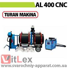 Стыковая сварка Turan Makina AL 400 CNC Сварочный аппарат стыковой сварки полиэтиленовых ПНД ПЭ пластиковых труб