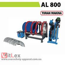 Стыковая сварка Turan Makina AL 800 Сварочный аппарат стыковой сварки полиэтиленовых ПНД ПЭ пластиковых труб