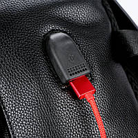 Городской мужской рюкзак POLO Черный, фото 6