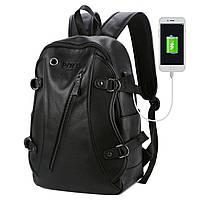Городской мужской рюкзак POLO Черный, фото 7