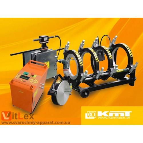 Стыковая сварка KamiTech KmT315 Сварочный аппарат стыковой сварки полиэтиленовых ПНД ПЭ пластиковых труб