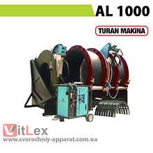 Стыковая сварка Turan Makina AL 1000 Сварочный аппарат стыковой сварки полиэтиленовых ПНД ПЭ пластиковых труб