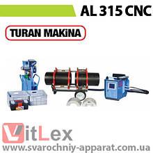 Стыковая сварка Turan Makina AL 315 CNC Сварочный аппарат стыковой сварки полиэтиленовых ПНД ПЭ пластиковых труб