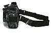 Сумка тактическая наплечная поясная ForTactic Черный питон, фото 5