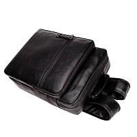 Городской мужской рюкзак POLO Черный, фото 2