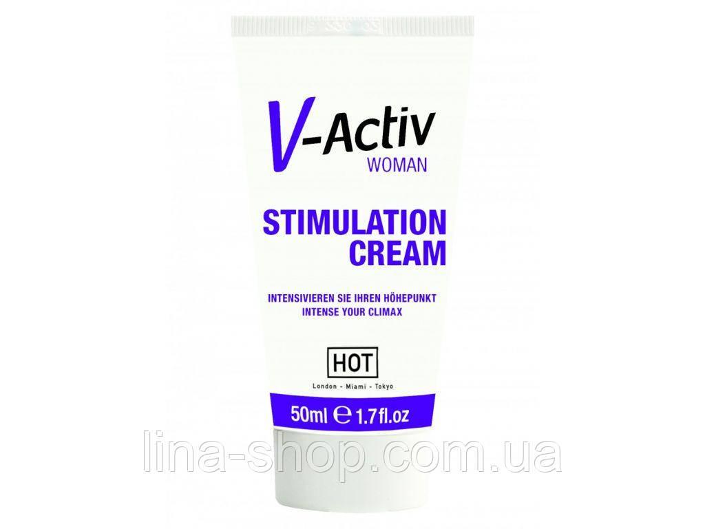 Крем-стимулятор для женщин V-Activ, 50 мл