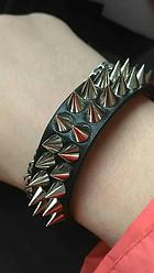 Маленький Шипованный браслет. Качественный