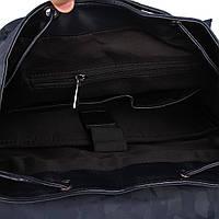 Мужской рюкзак высококачественная PU-кожа Черный, Синий, фото 7