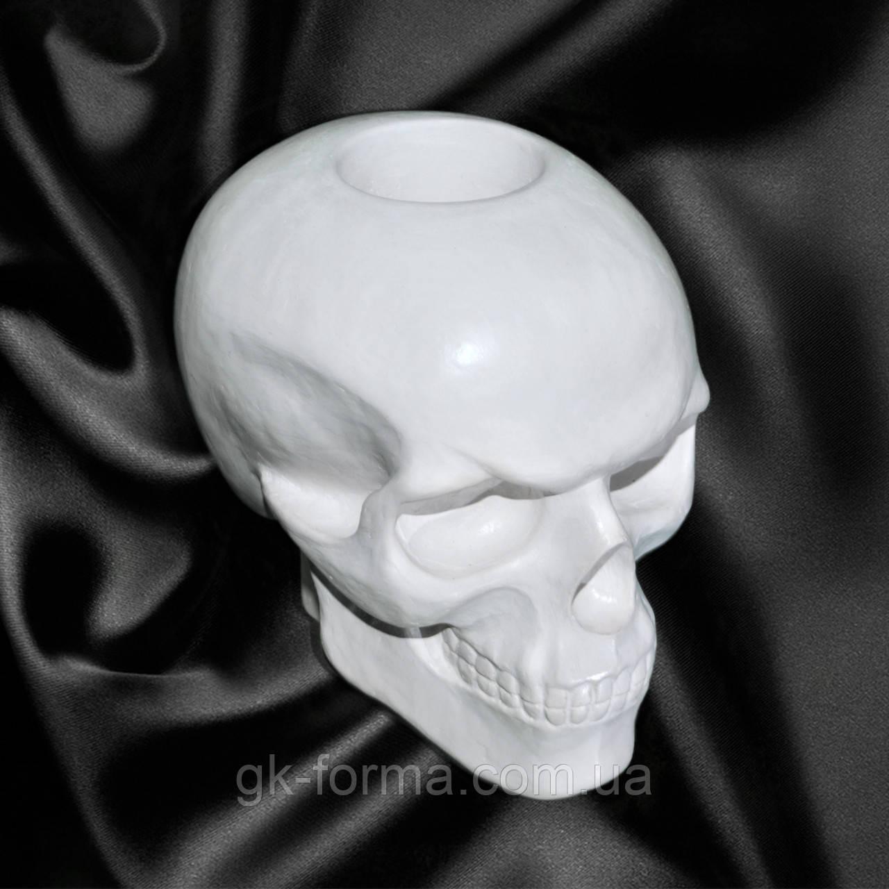 Гипсовый череп для раскрашивания аэрографом или кистью