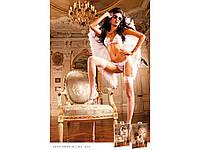 BACI - Комплект White-Hot Pink Lace Bikini Set (B25-WHITE HOTPINK-OS)
