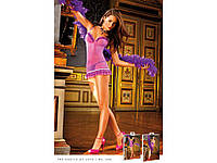 BACI - Пеньюар Purple-Blue Ruffled Dress (B306-PURPLE BLUE-OS), фото 1