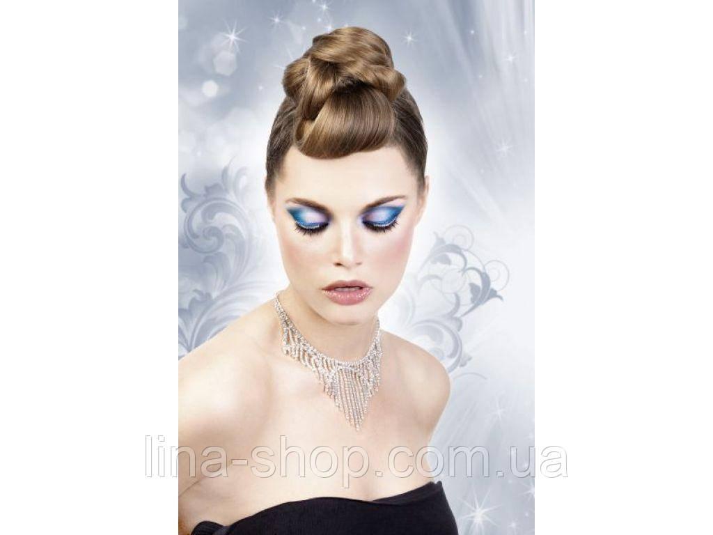 Baci Eyelashes - Реснички Black-White Rhinestone Eyelashes (B504)