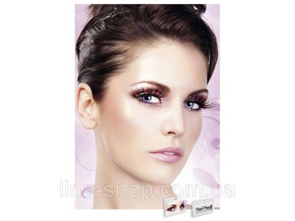 Baci Eyelashes - Реснички Multi-colored Glitter eyelashes (B543)