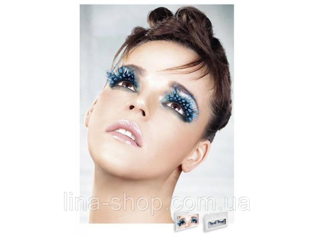 Baci Eyelashes - Реснички Blue Feather Eyelashes (B612)