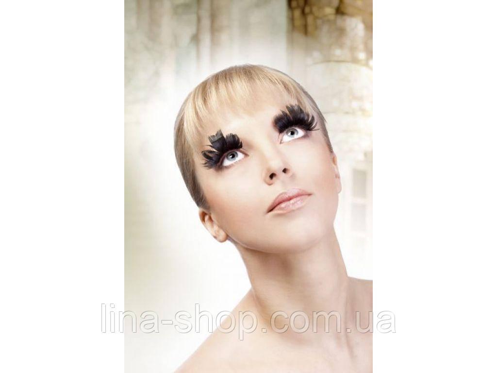 Baci Eyelashes - Реснички Black Feather Eyelashes (B628)