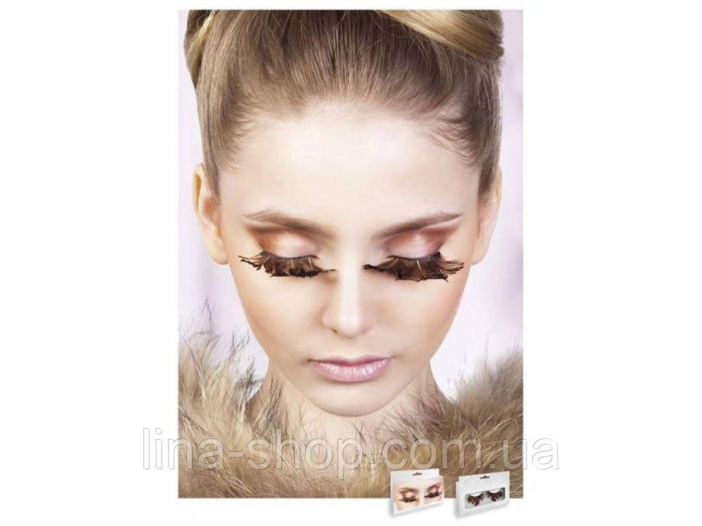 Baci Eyelashes - Реснички Brown Feather Eyelashes (B631)