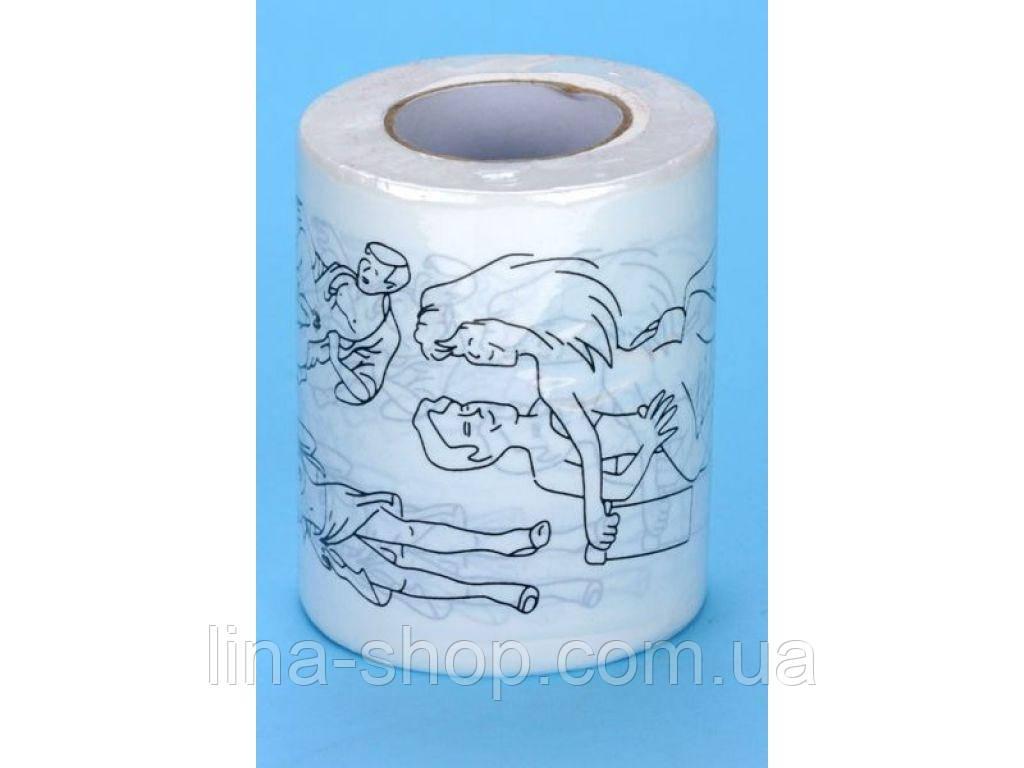 Souvenirs - Туалетная бумага с сексуальными позами (280519)