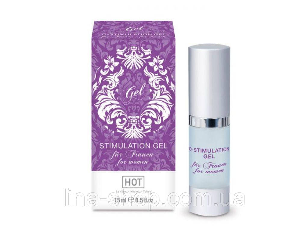 HOT - Стимулирующий гель для женщин O-Stimulation Gel, 15 мл (H44400)