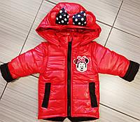 Детские куртки на девочек весенние с ушками