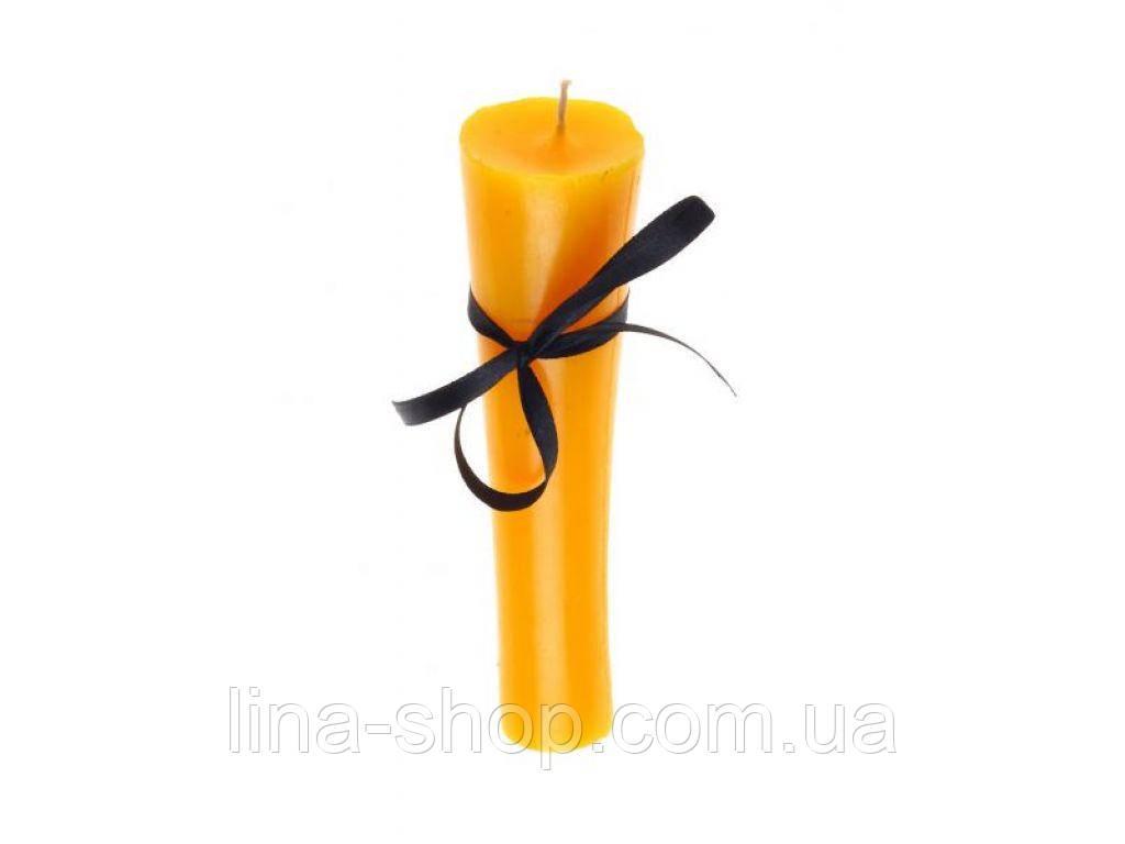 SLash - Свеча факельная желтая ручной работы (280350)
